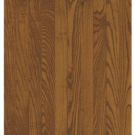 Bruce America s Best Choice 3 25 in W Prefinished Oak Hardwood Flooring  Gunstock