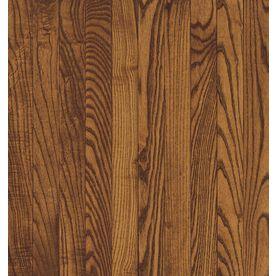 Bruce Addison 2 25 in W Prefinished Oak Hardwood Flooring  Spice