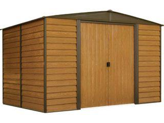 Woodridge Steel Storage Shed 10  X 8    Arrow Storage Products