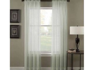 Trinity Crinkle Voile Extrawide Sheer Curtain Panel