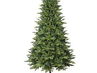 GE 7 ft Asheville Fir Pre lit Traditional Slim Artificial Christmas Tree with 500 Multi Function Color Changing lED lights  lights don t work