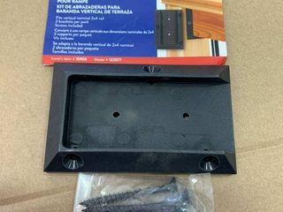 DecKorators vertical deck rail bracket kit