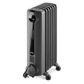 Delonghi 1500 Watt Oil filled Radiant Compact Personal Electric Space Heater with Thermostat