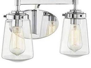 Allen   Roth wyatt 2 light vanity bar