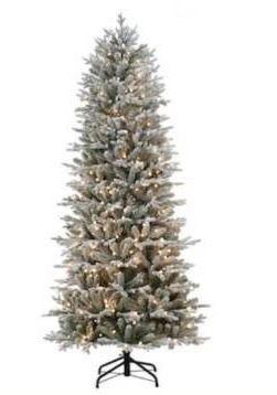 Holiday living 7 5 foot pre lit Essex fir tree  lights don t work