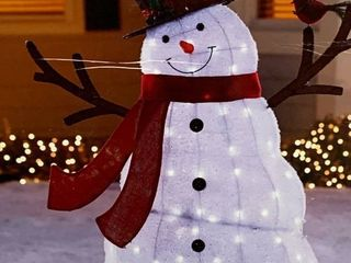 Holiday living lighted Snowman  lights work