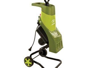 Sun Joe 14 Amp Electric Wood Chipper and Shredder   Green
