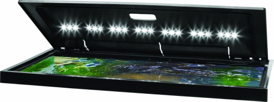 Tetra lED Hood 30 Inches By 12 Inches  low Profile aquarium Hood With Hidden lighting