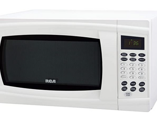 RCV 1000 Watts White Microwave