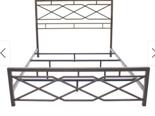 Ketter Home Bronze   Iron King Bed