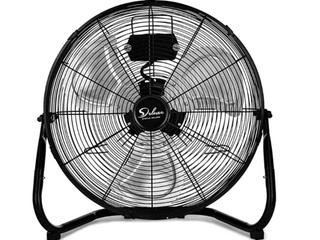 Deluxe Floor Fan   Black