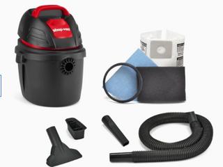 Shop vac 2 5 gallon 2 5 hp Handheld Wet dry Shop Vacuum