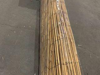 2   6ft Bamboo Decor