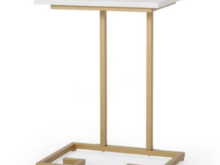 Ettenmoor Modern Glam Faux Wood End Table by Christopher Knight Home