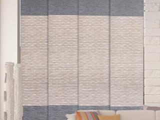 GoDear Design Blackout Natural Woven Adjustable Sliding Panel  45 8  86  W x 96  l Retail 161 49