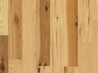 4  Bruce Brand Country Natural Hickory 3 4 in  Thick x 3 1 4 in  Wide x Varying length Solid Hardwood Flooring  22 sq  ft    case
