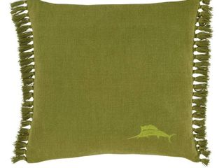 20  x 20  Island Essentials Decorative Throw Pillows Green   Tommy Bahama