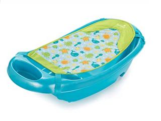 Splish N Splash Newborn To Toddler Bathtub   Blue