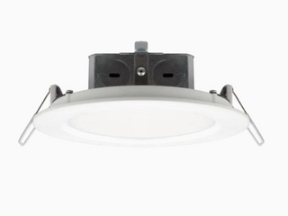 Utilitech White Canless led Recessed lighting Kit  Fits Openings 6  Wide SET OF 2