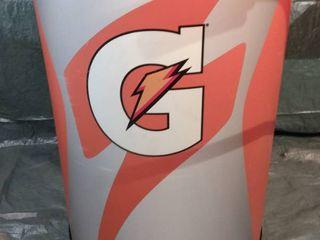 large Gatorade Cooler  Top Missing