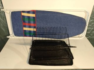 Dish Drainer and Ironing Board