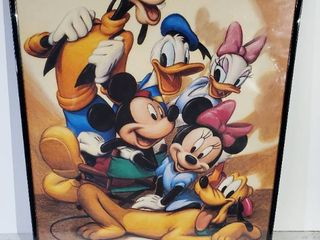 Mickey Mouse Collectible Print