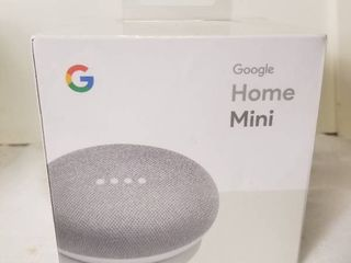 Google Home Mini   Smart Speaker with Google Assistant  Still Wrapped In Factory Plastic