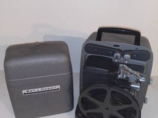 Vintage Mid Century Modern Bell and Howell Auto load Movie Projector