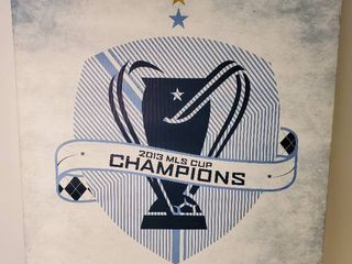 Sporting KC 2013 MlS Cup Champions  Wall Decor On Canvas