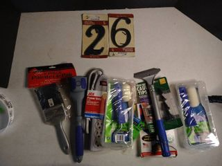 lot of Various Tools   Power Strip Paint Rollers Paint Brush