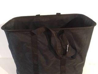 Clevermade Collapsible Black Hamper Basket