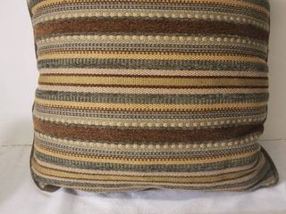 One Multi Colored Decorative Pillow  In Good Condition
