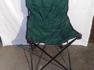 Green Folding Recreation Chair