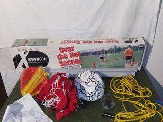 KWIKGOAl Over the Net Soccer Tennis Set