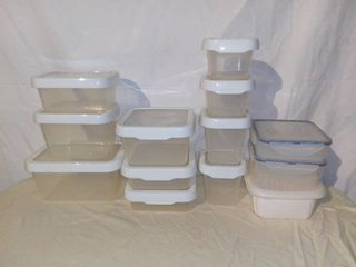 lot of Plastic Food Containers