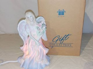 Avon Gift Collection lighted Porcelain Angel