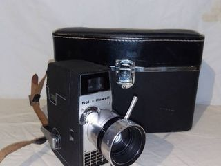 Vintage Bell and Howell Electric Eye Camera with Case