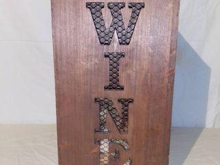 Cute Wine Cork Box