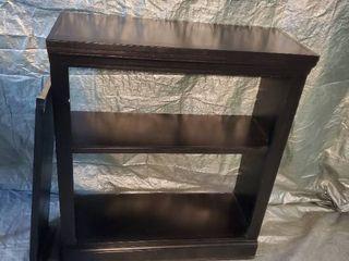 Black Book Shelf with Spare Shelf