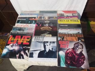 lot of 24 80s Music Records 33 RPM