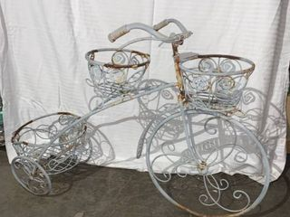 Cute Antique Style Bicycle Planter location 1C