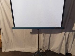 Vintage Da lite Flyer Collapsible Projection Screen