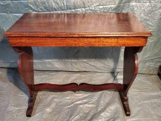Antique Mahogany Short Table