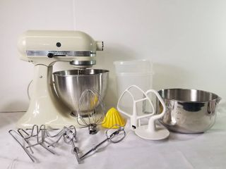 Vintage Classic KitchenAid Mixer with Accessories
