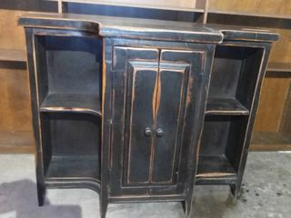 Distressed Wooden Bar Console