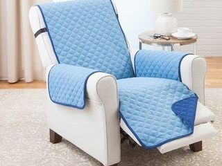 PrimeBeau Reversible Quilted Spills Preventing Recliner Slipcover W79  x l68