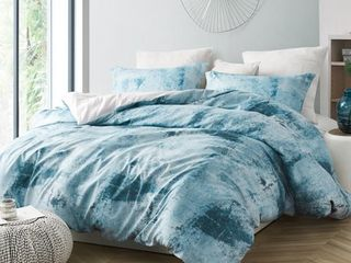 Brucht Designer Supersoft Oversized Duvet Cover   Moonrise   Blue Gray  Retail 81 99