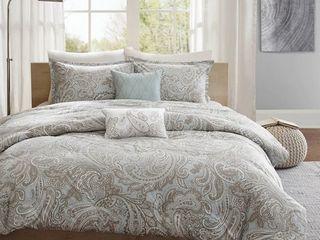 Gracewood Hollow Rio Cotton 5 piece Comforter Set  Retail 109 98