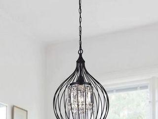 Acatia 3 light Black Foyer Pendant Black Finish  Retail 188 49