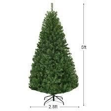 Pre lit Artificial Christmas Tree with Hinged lED lights  Retail 105 49